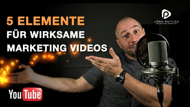 Marketing Video: 5 Elemente für wirksame Marketing Videos
