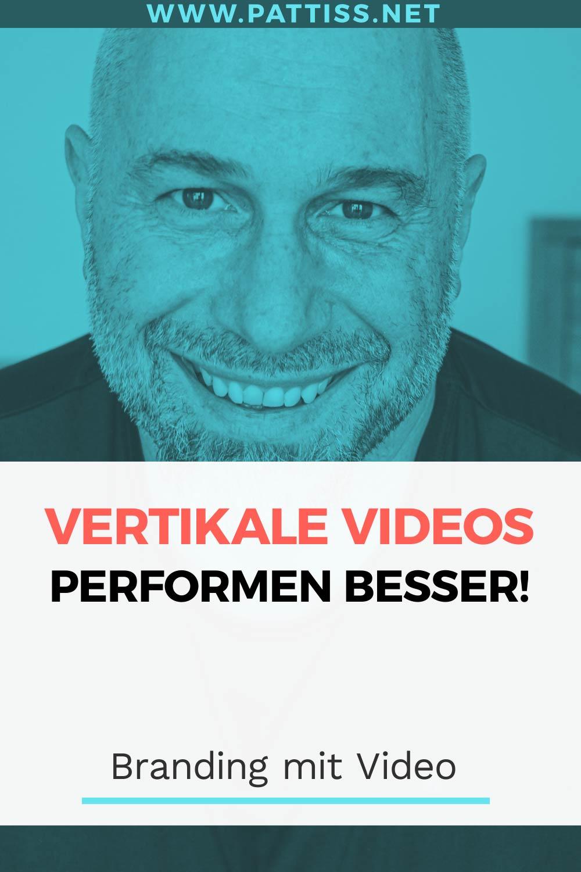 Pinerest Vertikale Videos performen besser
