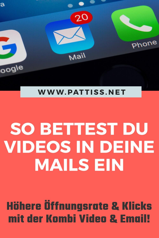 Video in Email einbinden