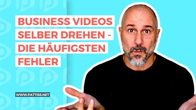 Business Videos selber erstellen – die häufigsten Fehler